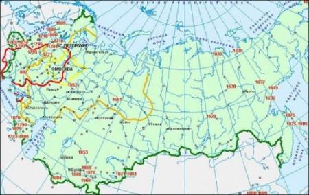 Русская история в 100 датах