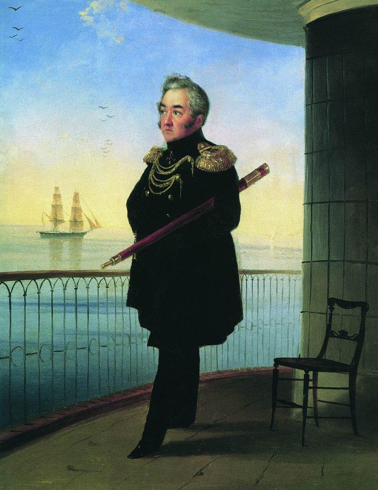 Vice-admiral_Lazarev_Aivazovsky