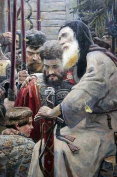 Павел Рыженко. Благословение преподобного Сергия