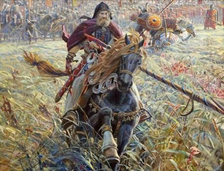 Павел Рыженко. Победа Пересвета