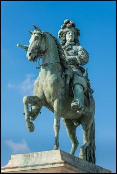 Версаль. Памятник Людовику XIV