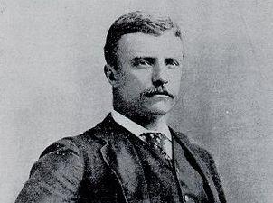 Комиссар полиции Нью-Йорка Теодор Рузвельт. 1895