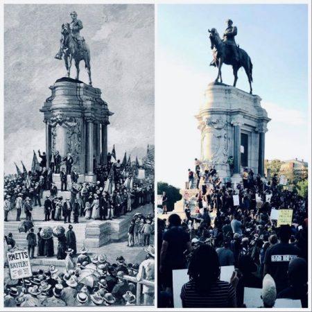 Осквернители праха. Что стоит за нападениями на памятники конфедератам